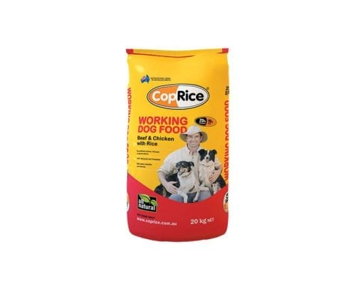CopRice working dog food