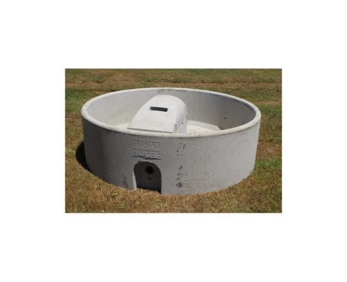 Grahams Concrete 1500L Round Trough