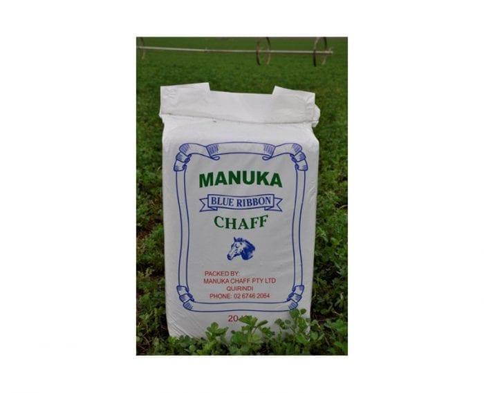 Manuka Lucerne Compressed chaff