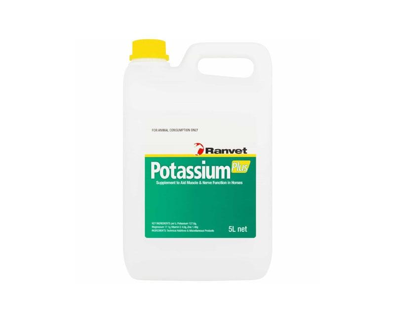 ranvet potassium plus 5 litre