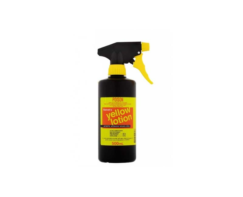 Yellow Lotion – 500ml